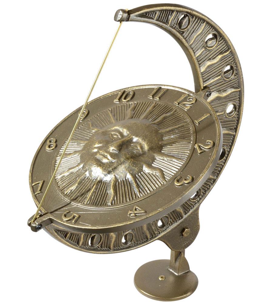 Sundial Clock  Sun and Moon in Sundials